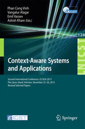 Context-Aware Systems and Applications by Phan Cong Vinh