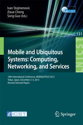 Mobile and Ubiquitous Systems: Computing, Networking, and Services by Ivan Stojmenovic