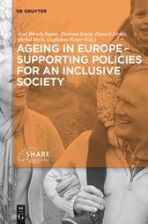 Ageing in Europe - Supporting Policies for an Inclusive Society by Axel Börsch-Supan
