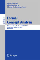 Formal Concept Analysis by Jaume Baixeries