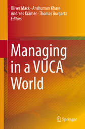 Managing in a VUCA World by Oliver Mack