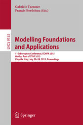 Modelling Foundations and Applications by Gabriele Taentzer