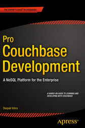 Pro Couchbase Development by Deepak Vohra