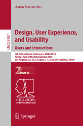 Design, User Experience, and Usability: Users and Interactions by Aaron Marcus