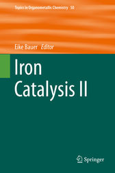 Iron Catalysis II by Eike Bauer