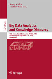 Big Data Analytics and Knowledge Discovery by Sanjay Madria