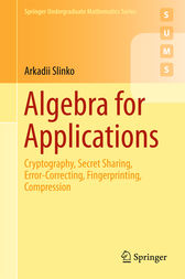 Algebra for Applications by Arkadii Slinko
