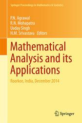 Mathematical Analysis and its Applications by P. N. Agrawal