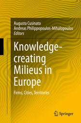 Knowledge-creating Milieus in Europe by Augusto Cusinato