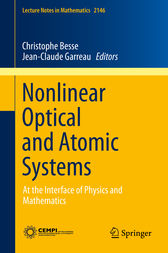 Nonlinear Optical and Atomic Systems by Christophe Besse