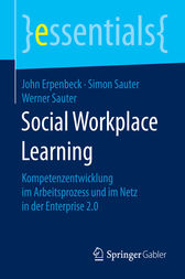 Social Workplace Learning by John Erpenbeck