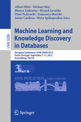 Machine Learning and Knowledge Discovery in Databases by Albert Bifet