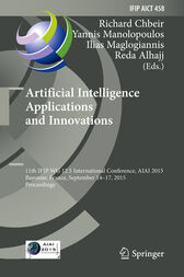Artificial Intelligence Applications and Innovations by Richard Chbeir