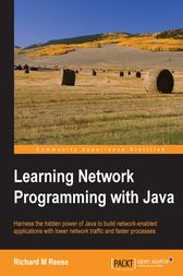 Learning Network Programming with Java by Richard M. Reese