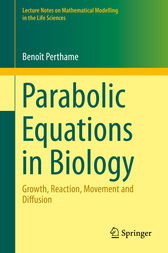 Parabolic Equations in Biology by Benoît Perthame