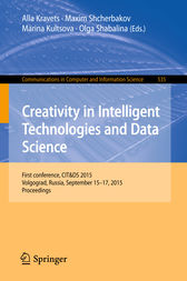 Creativity in Intelligent Technologies and Data Science by Alla Kravets