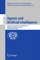 Agents and Artificial Intelligence by Béatrice Duval