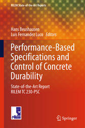 Performance-Based Specifications and Control of Concrete Durability by Hans Beushausen