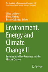 Environment, Energy and Climate Change II by Gilles Lefebvre
