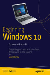 Beginning Windows 10 by Mike Halsey