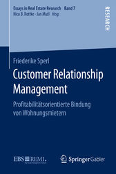Customer Relationship Management by Friederike Sperl