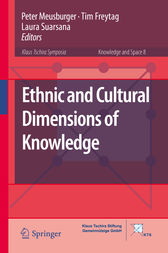 Ethnic and Cultural Dimensions of Knowledge by Peter Meusburger