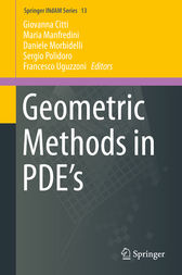 Geometric Methods in PDE's by Giovanna Citti