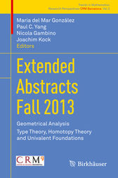 Extended Abstracts Fall 2013 by Maria del Mar González