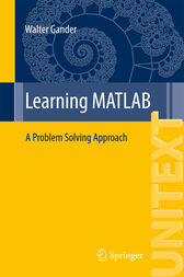 Learning MATLAB by Walter Gander