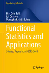 Functional Statistics and Applications by Elias Ould Saïd