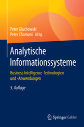 Analytische Informationssysteme by Peter Gluchowski
