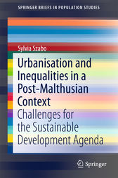 Urbanisation and Inequalities in a Post-Malthusian Context by Sylvia Szabo