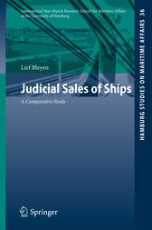 Judicial Sales of Ships by Lief Bleyen
