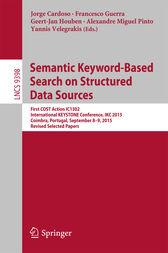 Semantic Keyword-based Search on Structured Data Sources by Jorge Cardoso