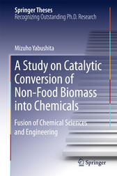 A Study on Catalytic Conversion of Non-Food Biomass into Chemicals by Mizuho Yabushita