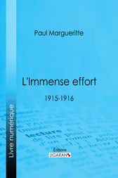 L'Immense effort by Paul Margueritte