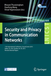 Security and Privacy in Communication Networks by Bhavani Thuraisingham