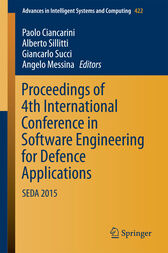 Proceedings of 4th International Conference in Software Engineering for Defence Applications by Paolo Ciancarini