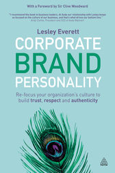 Corporate Brand Personality by Lesley Everett