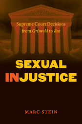 Sexual Injustice by Marc Stein