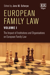 European Family Law Volume I by Jens M. Scherpe