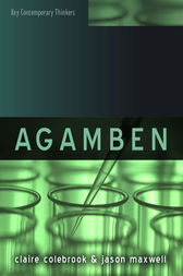 Agamben by Claire Colebrook