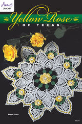 Yellow Rose of Texas Doily by Annie's