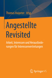 Angestellte Revisited by Thomas Haipeter