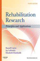 Rehabilitation Research - E-Book by Russell Carter