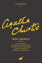 Intégrale Miss Marple - volume 1 by Agatha Christie