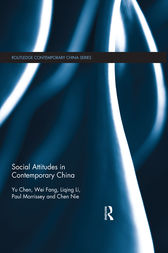 Social Attitudes in Contemporary China by Chen Yu
