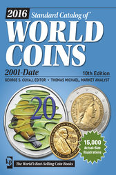 2016 Standard Catalog of World Coins 2001-Date by George S. Cuhaj