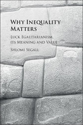 Why Inequality Matters by Shlomi Segall