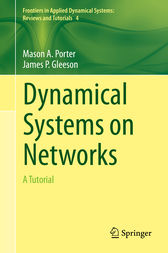 Dynamical Systems on Networks by Mason Porter